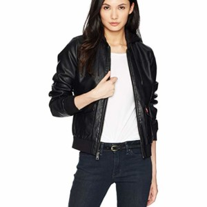 brown leather bomber jacket womens