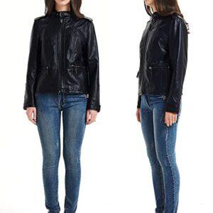 black leather biker jacket tumblr