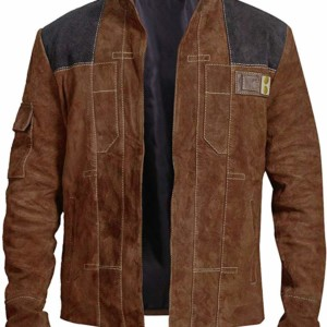 brown suede solo a star wars story jacket