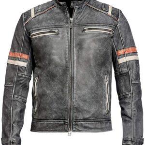 retro moto jacket