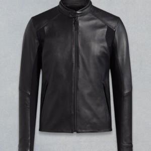 X MCLAREN Leather Jacket