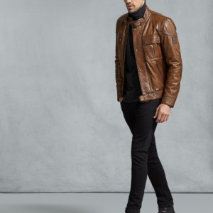 GANGSTER 2.0 LEATHER JACKET