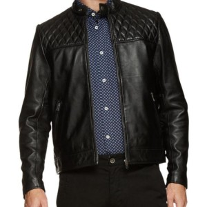Oxford Vinnie Lambskin Leather Jacket