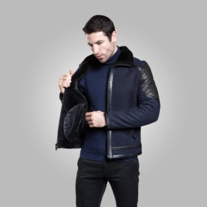 KENT SHEARLING JACKET