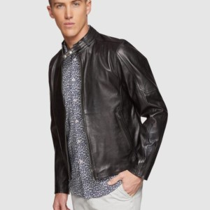 OXFORD Dean Lambskin Leather Jacket