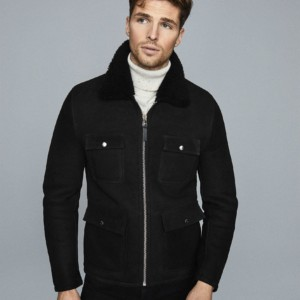 CHURCH SHEARLING JACKET