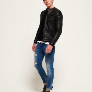 Hero Leather Racer Jacket