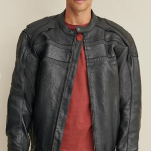 Big & Tall Justin Leather Jacket