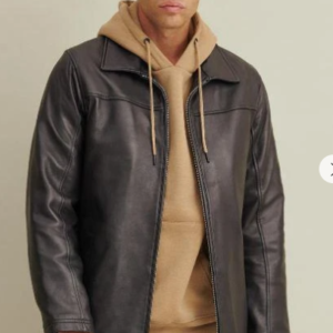 Bruce Leather Jacket with Thinsulate Lining