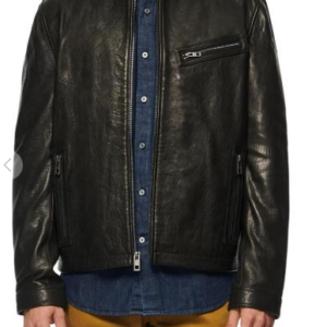 Cumberland Leather Racer Jacket