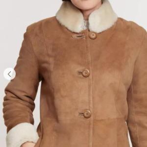 Justine Spanish Shearling Sheepskin Coat