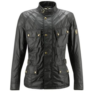 Black Biker Crosby Leather Jacket
