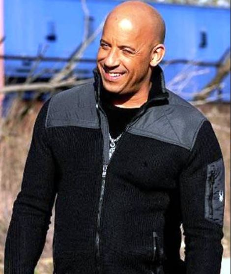 Vin Diesel Black & Grey Jacket XXX Return of Xander