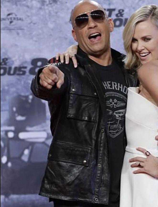 Vin Diesel Fast Furious 9 Premiere Jacket