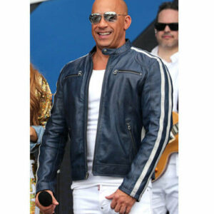 Vin Diesel Leather Jacket Fast and Furious 9