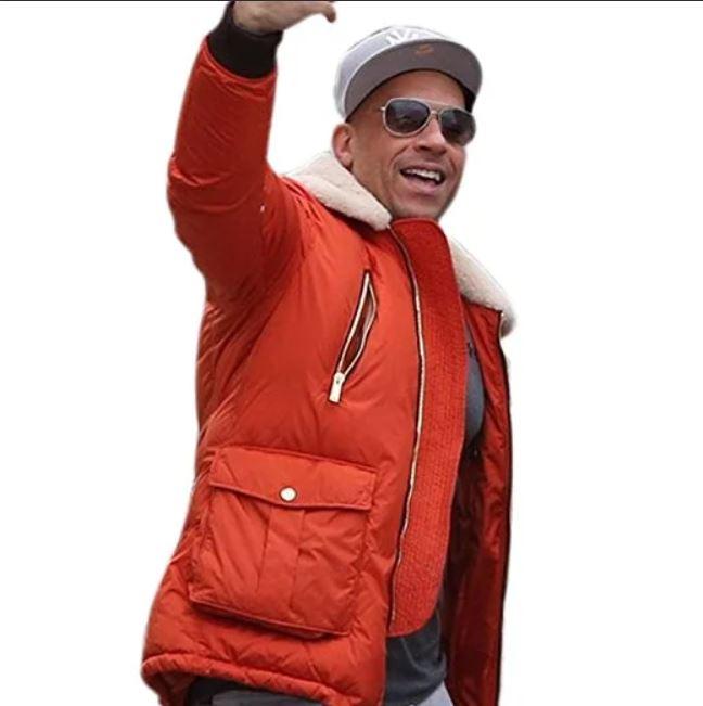 Vin Diesel XXX Return Of Xander Cage Red Jacket