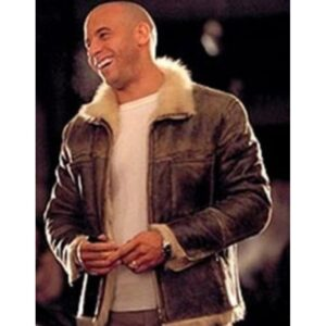 Vin Diesel XXX Xander Cage Leather Fur Jacket